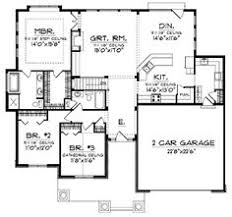 open layout house plans small ranch floor plans ranch house plan ottawa 30 601 floor