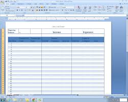 Rental Income And Expenses Spreadsheet Income And Expense Register Excel Spreadsheet Template