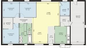 plan maison gratuit plain pied 3 chambres plan maison plein pied 120m2 14 maison ossature bois plain pied