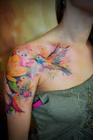 watercolor tattoos 2017 newest tattoos 2017