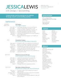 Interactive Resumes Jessica Lewis Portfolio Resume