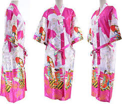 robe de chambre japonaise kimono japonais femme 70 soie robe de chambre peignoir 36 38 40 42
