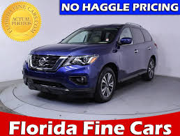 nissan pathfinder images 2017 used 2017 nissan pathfinder sv suv for sale in miami fl 84443