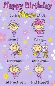 images of humorous niece birthday card wallpaper mio pinterest