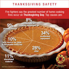 fighters stress cooking safety on thanksgiving day