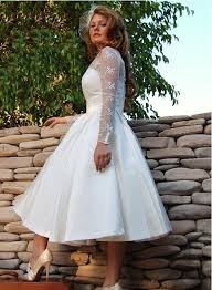 plus size wedding dresses with sleeves tea length modasaopaulo com vintage style sleeve tea length lace plus