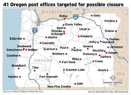 Usps Zip Code Maps by Rural Oregon Communities Hold Collective Breaths As They Wait To