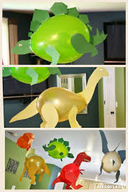 dinosaur balloons baby shower birthday party awesome idea baby