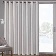 Patio Door Curtain Panel Sliding Door Curtains Wayfair
