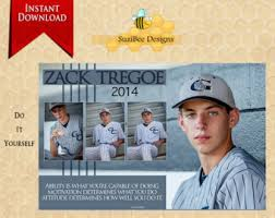 senior yearbook ad templates half page ad etsy