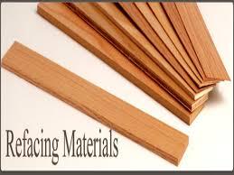 resurface kitchen cabinets veneer cabinet refacing materials wood