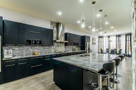 black kitchen cabinets with marble countertops kitchen marble image galleries for inspiration