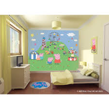 walltastic peppa pig wallpaper mural u2013 next day delivery