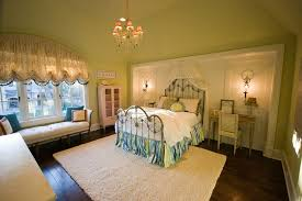 Balloon Curtains For Bedroom by Arched Window Treatments Bedroom Traditional With Alcove Area Rug