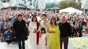 Indian National Flag Hoisting Watch Aishwarya Rai Bachchan Hoists The Indian National Flag At