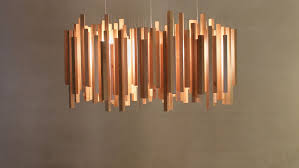 Wood Pendant Light Fixture Modern Birch Woods Pendant Lamp With Led Lighting Pendant Lights