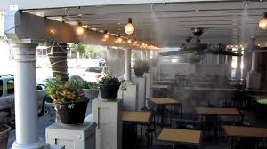 Best Patio Misting System Restaurant Misting System Outdoor Patio Misting Restaurant