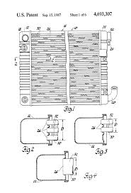 patent us4693307 tube and fin heat exchanger with hybrid heat
