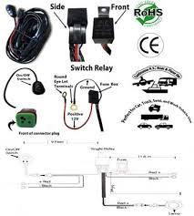 led light bar work light wiring kit single channel low voltage 12
