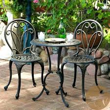 small garden bistro table and chairs small bistro set outdoor contemporary 17 remodeling jsmentors
