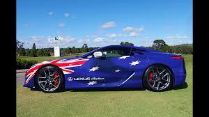 lexus sport car lfa lexus lfa australia day