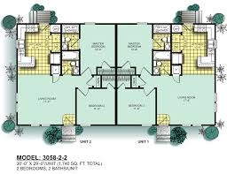 Two Bedroom Duplex Modular Duplexes Oak Creek Homes