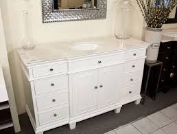 60 Inch White Vanity 60 Inch White Bathroom Vanity Ba746315w Pertaining To Plan 18