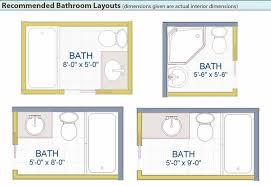 bath floor plans surprising small bathroom layout 20 20bathroom 20layouts intro