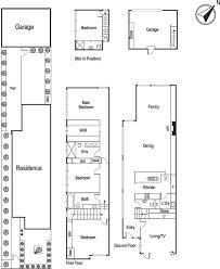 townhouse designs and floor plans townhouse floor plan elwood melbourne apartment floorplans