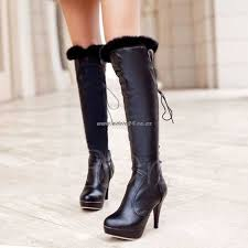 womens white knee high boots nz nz 178 womens boots lace up back pointed toe knee high boots