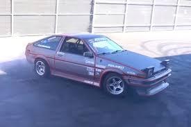 hoonigan drift cars toyota ae86 turned into electric drift car motor