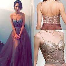 spaghetti dress prom dress evening dress spaghetti straps tulle