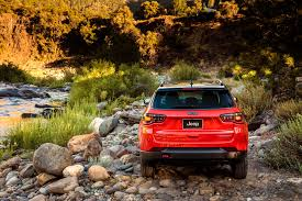 back of a jeep 2017 jeep compass reviews and rating motor trend