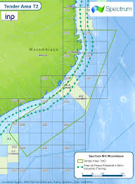 Mozambique Map Spectrum Wins 2d Offshore Mozambique Seismic Award Spectrum Geo
