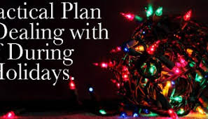 a practical plan for dealing with grief during the holidays