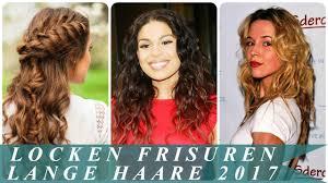 Frisur Lange Haare Locken by Locken Frisuren Lange Haare 2017