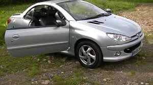 peugeot 206 cc allure coupe cabriolet 1 6 for sale youtube