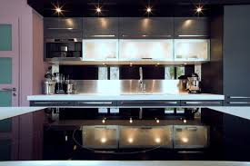 finition de cuisine grande cuisine design italien finition anthracite par severine