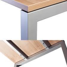 B O Schreibtisch Holz Hammerbacher Serie R Design Schreibtisch Cheftisch Höhenverstellbar