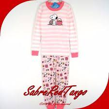 snoopy pajamas clothing shoes accessories ebay