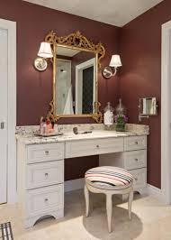 Bedroom Makeup Vanity Furniture Breathtaking Diy Makeup Vanity With Lights Phenomenal