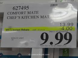 Padded Kitchen Mat Apache Mills Comfort Mate Chef U0027s Kitchen Mat