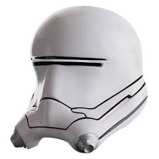 star wars the force awakens boys flametrooper full helmet