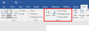 layout view zoom how to master zoom settings in word 2016 for windows windows central