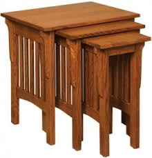 Mission Style Nightstand Plans Mission Nesting Tables Mission End Table Plans Nesting Table Plans