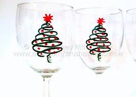 christmas glasses 518 best glass painting ideas images on glass