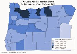 Portland Oregon County Map by Oregon Workforce And Economic Information Oregon County And Metro