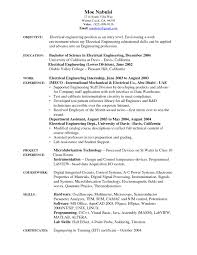 Best Resume Format Electronics Engineers by Skills Of Electrical Engineer Resume Free Resume Example And