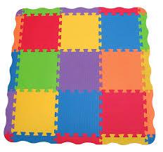 Baby Carpet Edushape Tiles 25 Piece Play Mat Children Toddler Child Kids