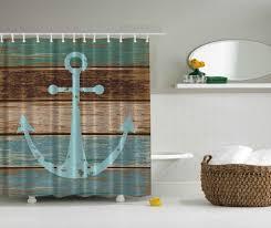 Beachy Shower Curtains Anchor Shower Curtain Scheduleaplane Interior Fresh And